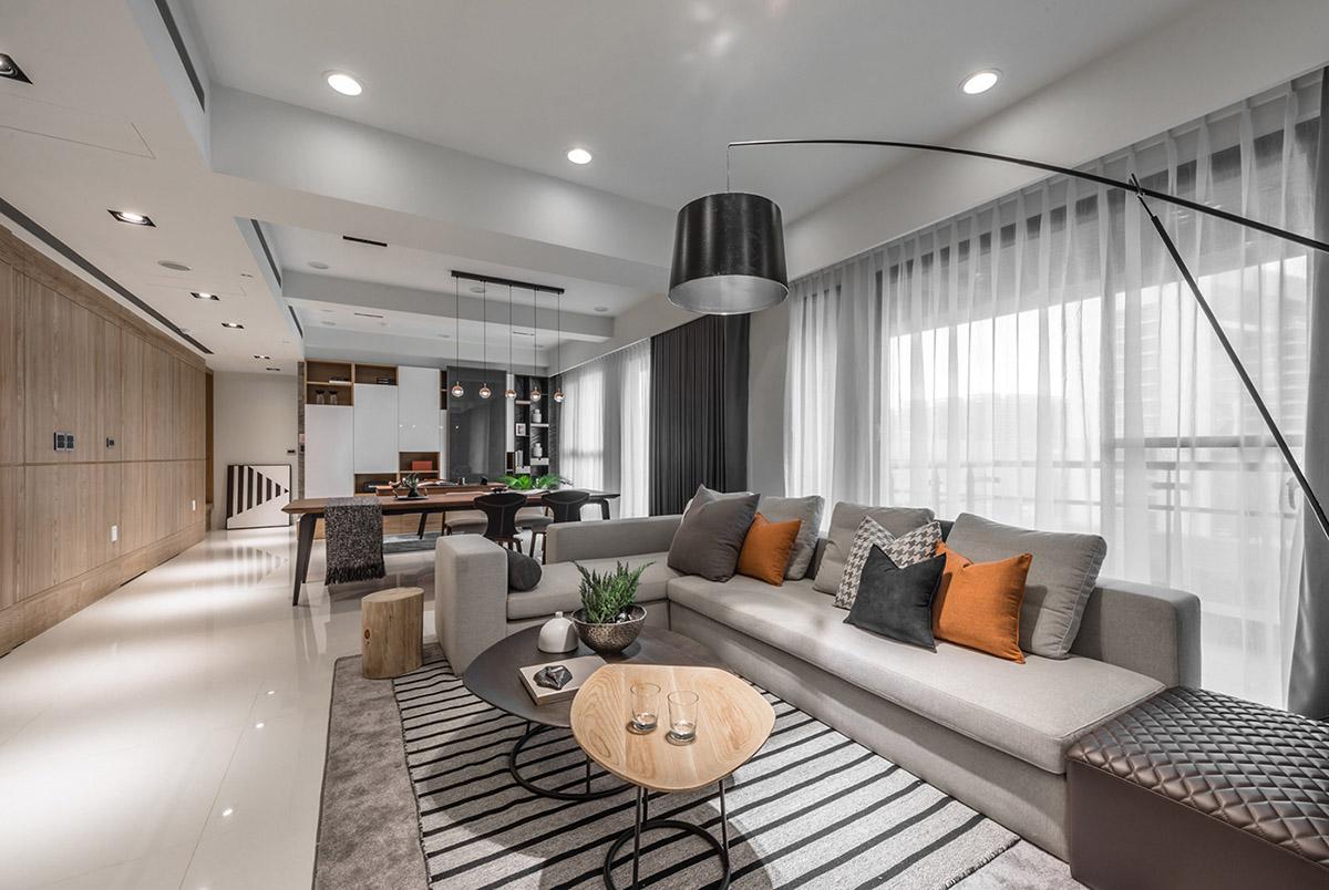 Các ý tưởng về thiết kế nội thất - Modern living room ideas
