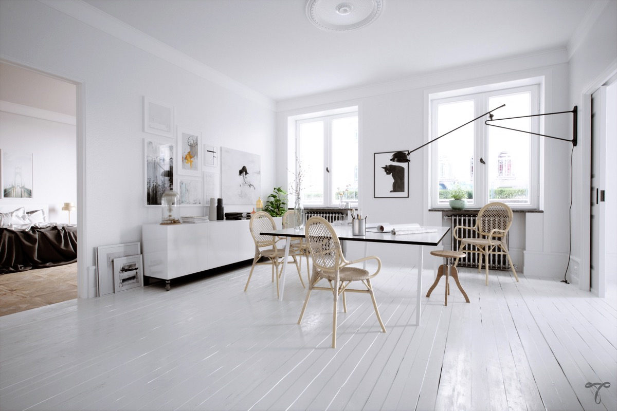 33 Dazzling White Dining Rooms Plus Tips To Help You