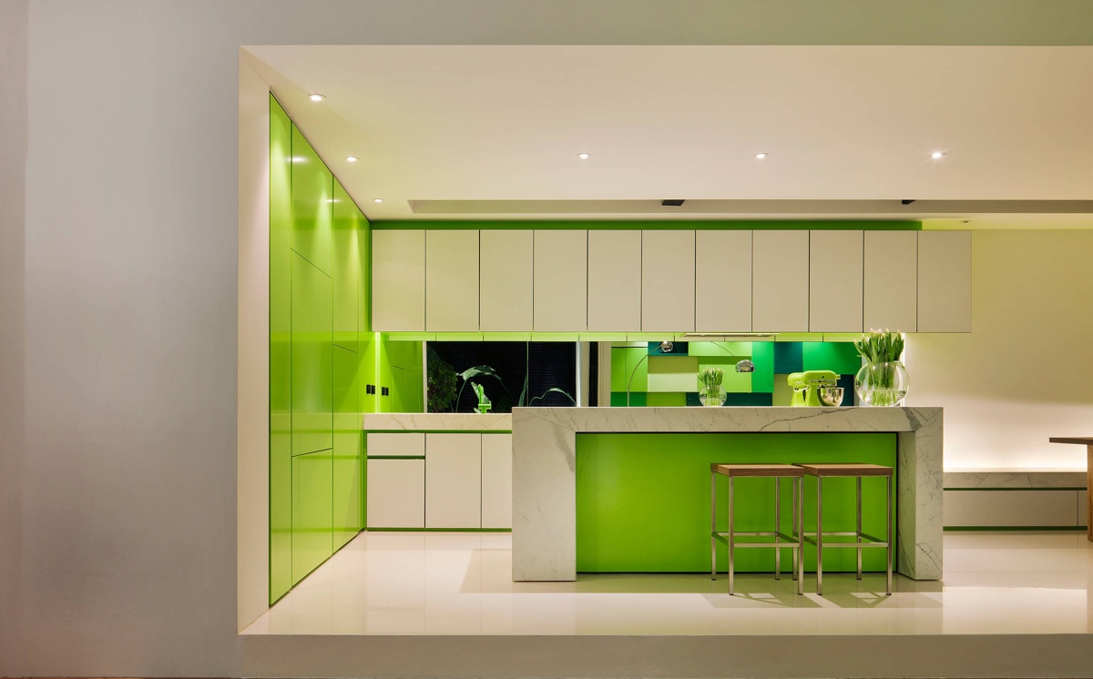 - 33 Gorgeous Green Kitchens And Ways To Accessorize Them