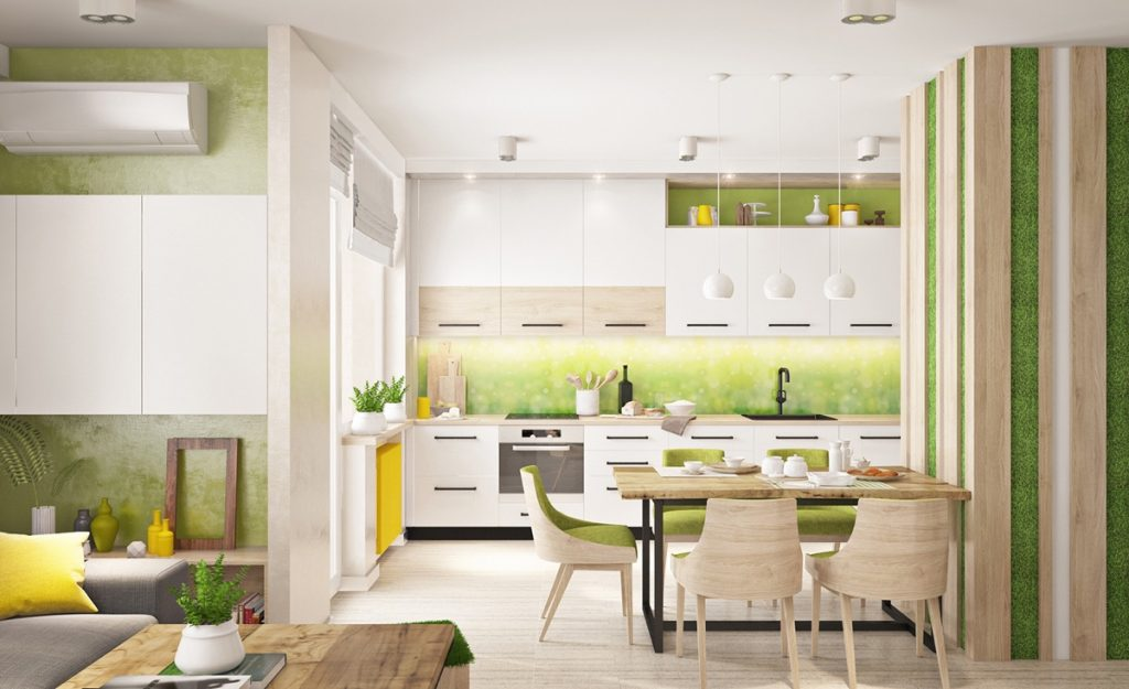 33 Gorgeous Green Kitchens And Ways To