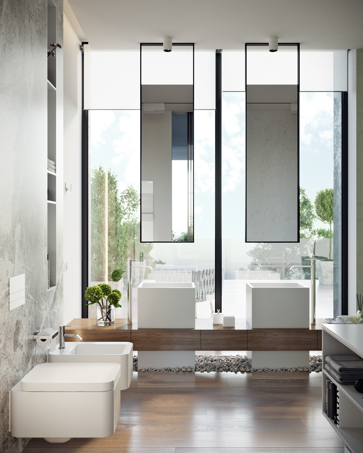 wonderful luxury modern bathroom design   50 Luxury Bathrooms And Tips You Can Copy From Them