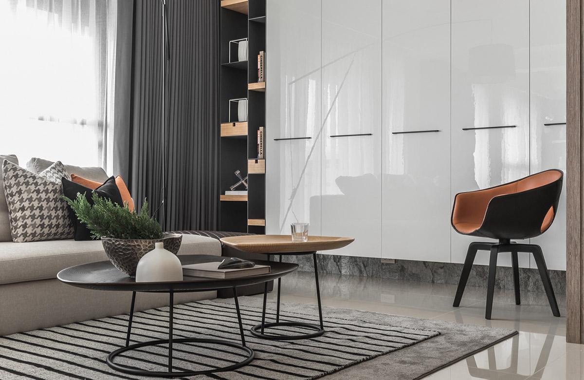 Các ý tưởng về thiết kế nội thất - modern accent chair