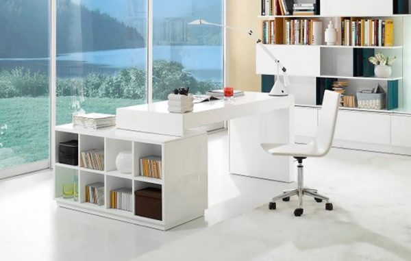 Modern Home Office Desks For Your Workspace, Contemporary Executive Office Furniture Sets