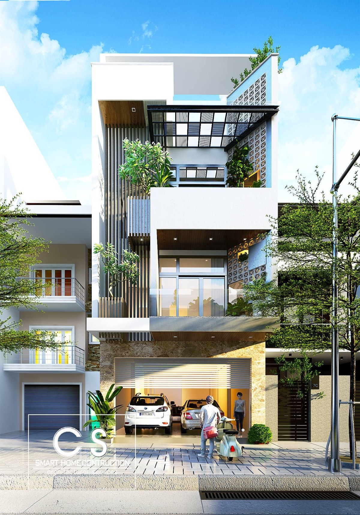 50 narrow lot houses that transform a skinny exterior into