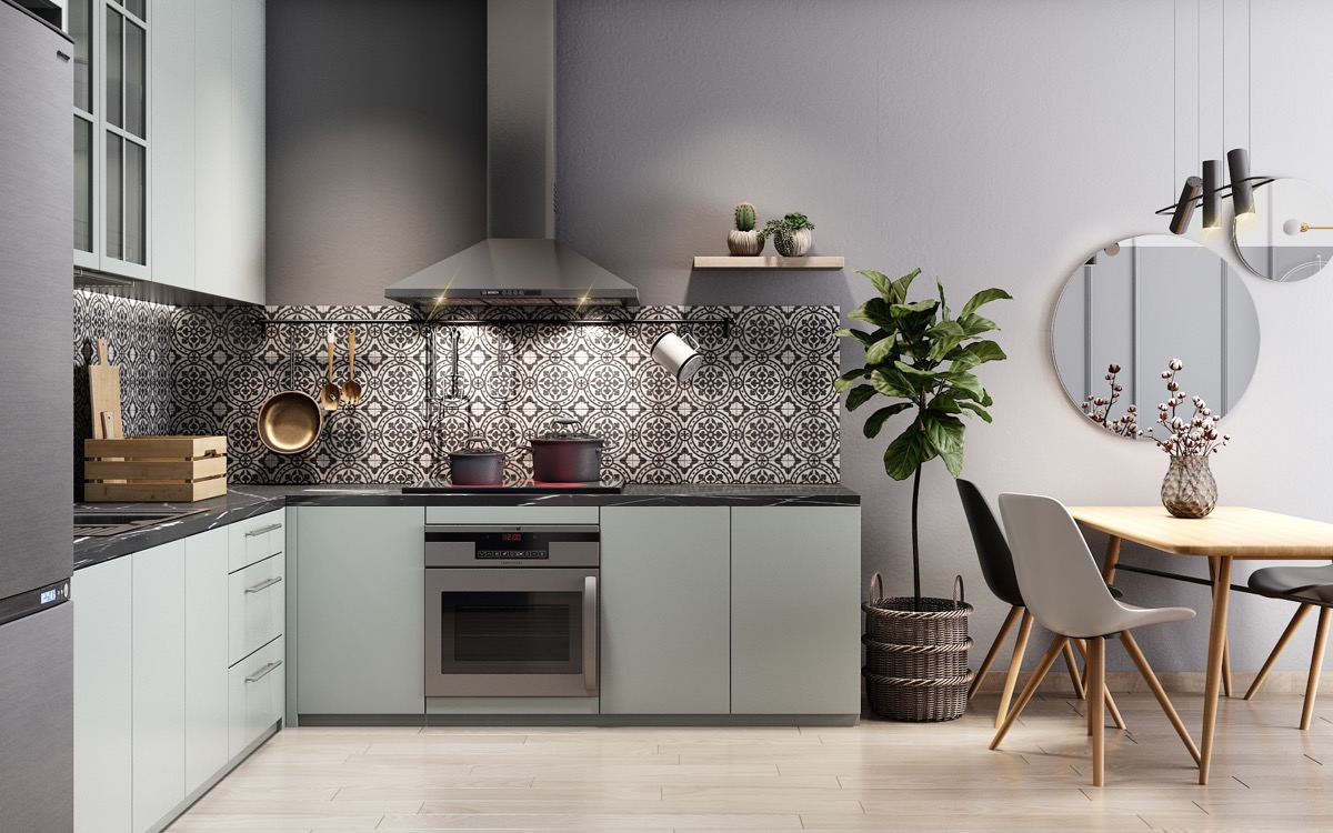 9 Lovely L-Shaped Kitchen Designs & Tips You Can Use From Them