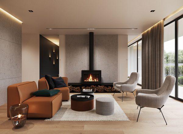 A Minimalist Home: Earthy, Modern & Masculine