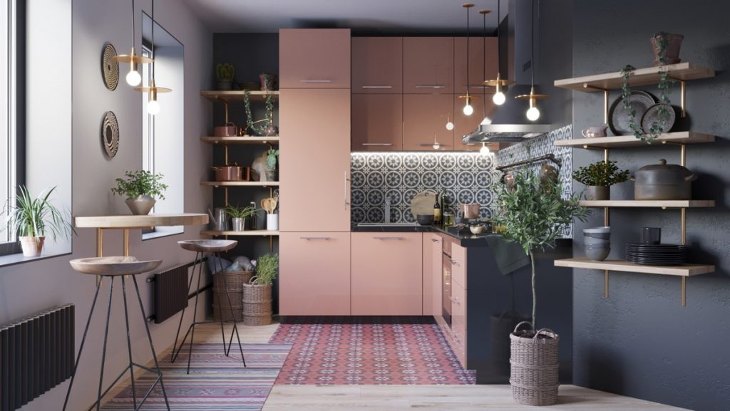 lovely kitchen delectable u shape kitchen decoration ideas | 50 Lovely L-Shaped Kitchen Designs & Tips You Can Use From ...