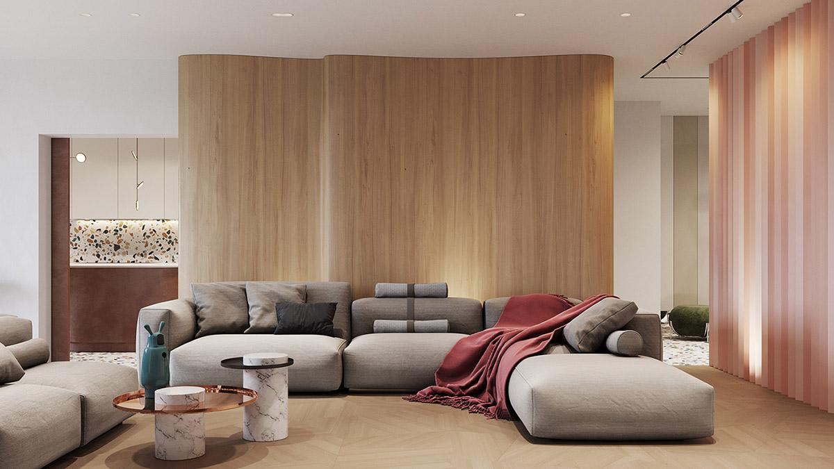 Retro Modern Interior Filled With Original Design Ideas