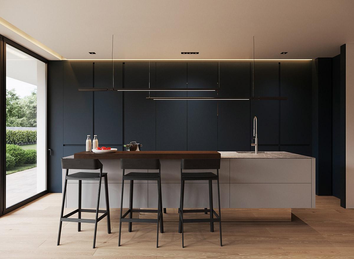 A Minimalist Home Earthy, Modern & Masculine