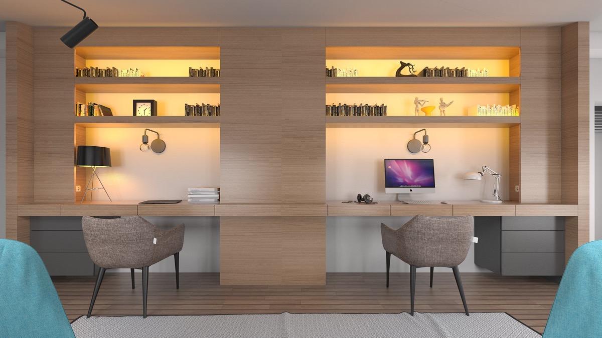 Feng Shui Office Layout L Shaped Desk