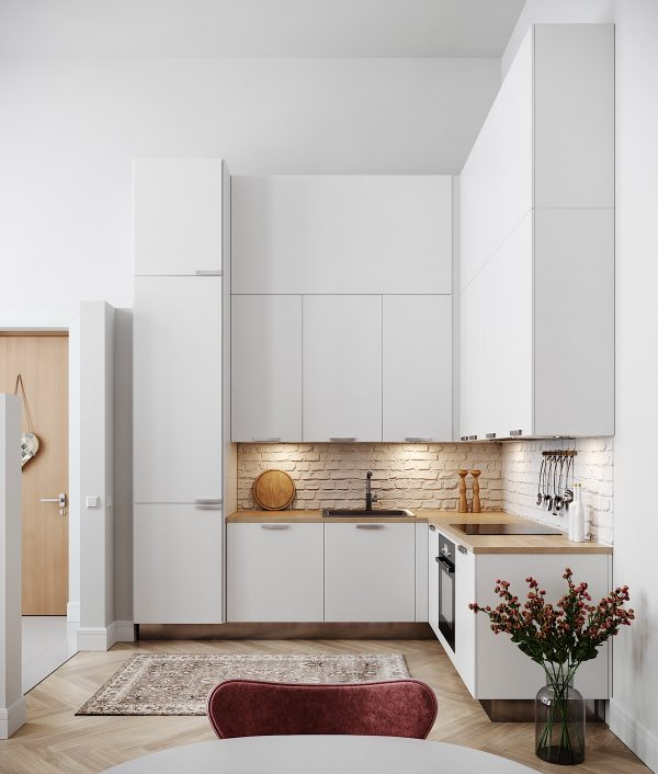 50 Lovely L Shaped Kitchen Designs And Tips You Can Use From Them Free Autocad Blocks Drawings Download Center