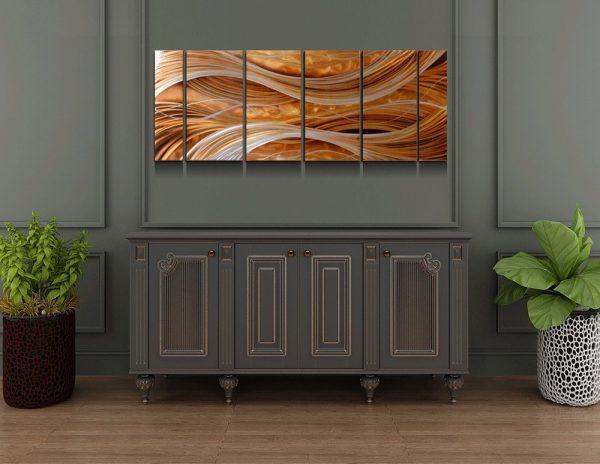 2d79cf5aa7 BUY IT · Handmade Abstract Metal Wall Art: ...