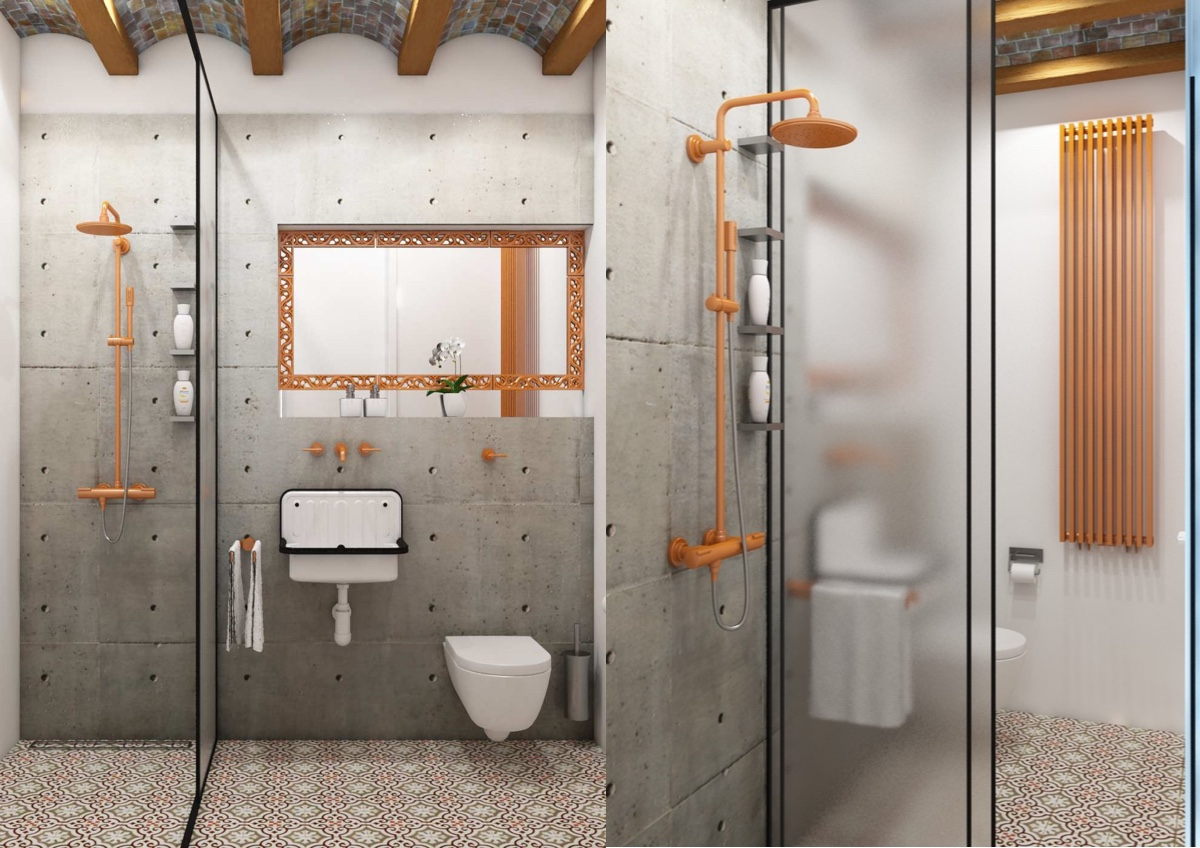 51 Industrial Style Bathrooms Plus Ideas Accessories You Can Copy From Them