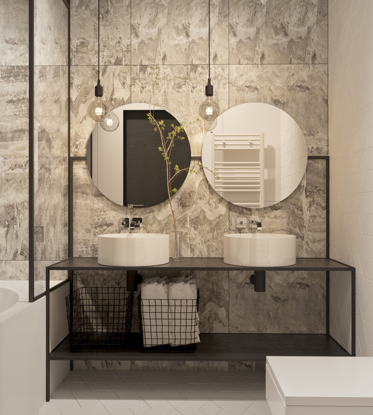 Modern Hotel Bathroom Design Ideas: 51 Industrial Style Bathrooms Plus Ideas & Accessories You