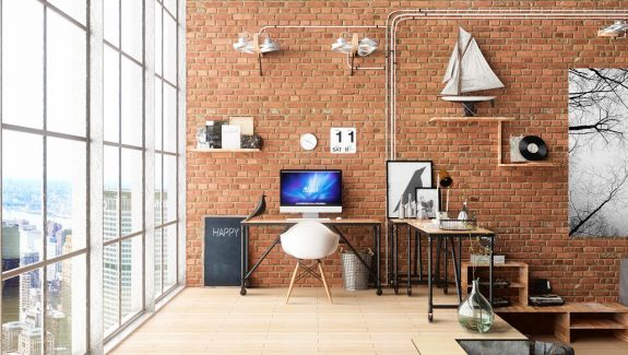 33 Inspiring Industrial Style Endangering Offices That Sport Beautiful Workspaces