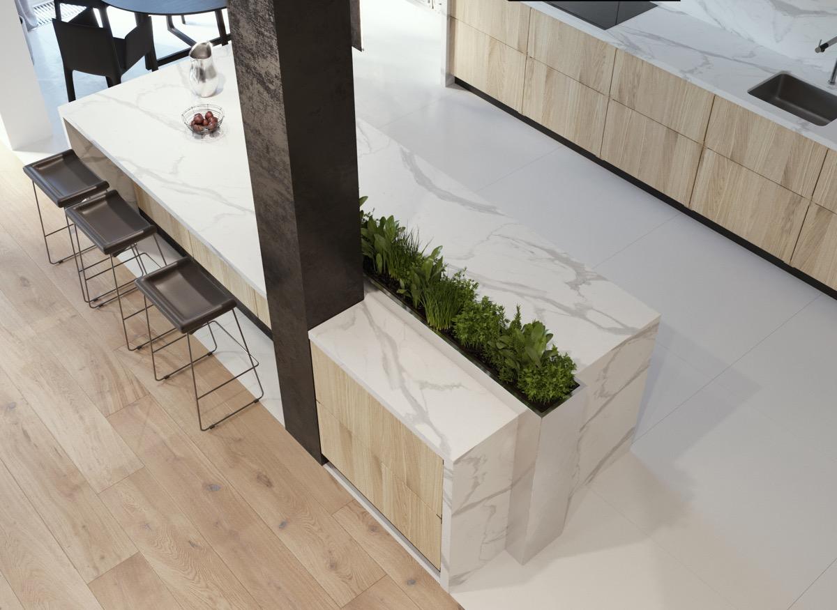 50 Stunning Modern Kitchen Island Designs