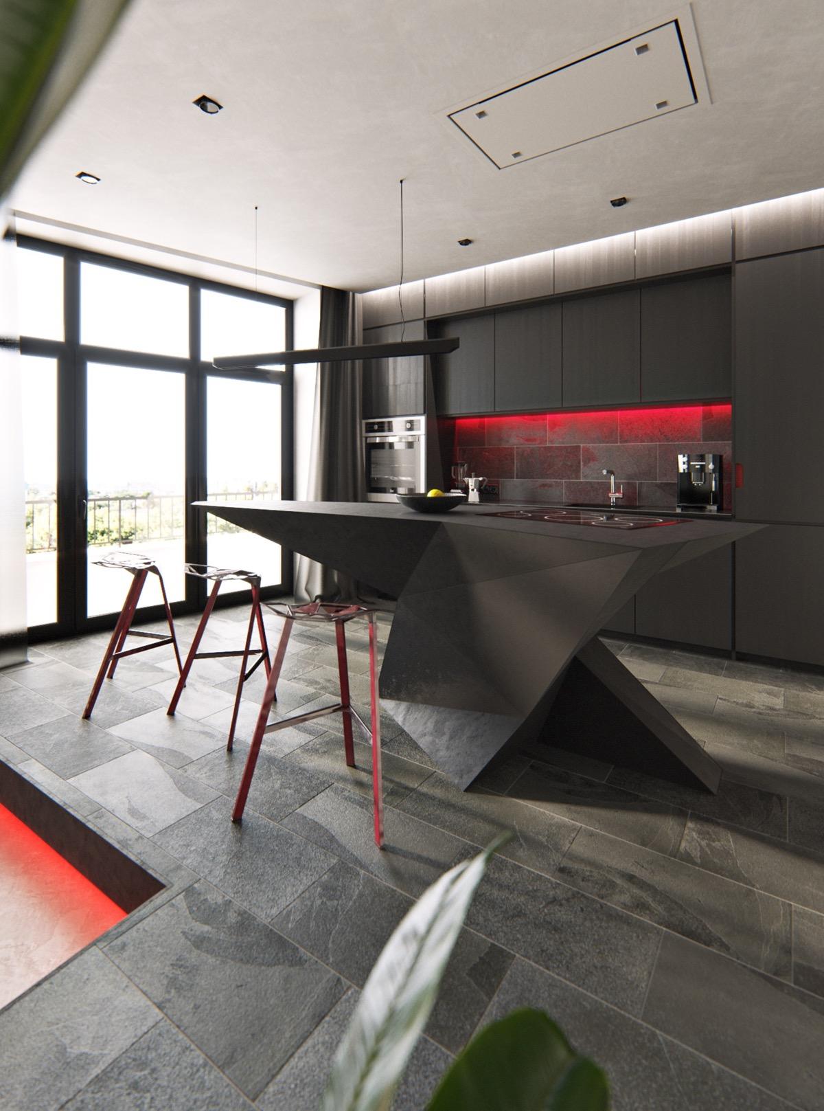 Sleek Ideas For Kitchen Design With Islands: 50 Stunning Modern Kitchen Island Designs