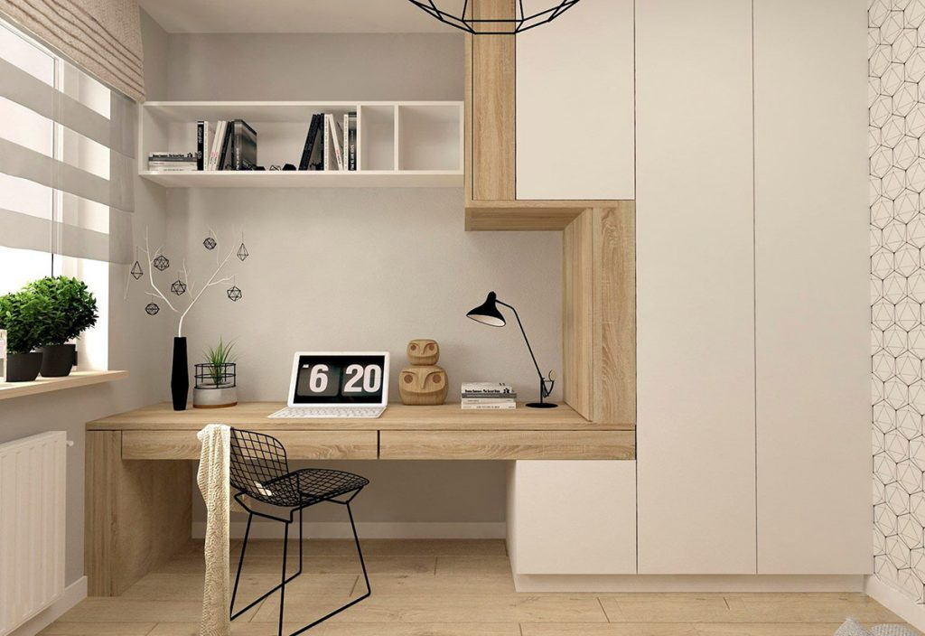 37 Minimalist Home Offices That Sport Simple But Stylish ...