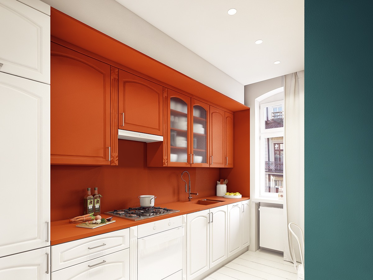 one wall galley kitchen design.  50 Wonderful One Wall Kitchens And Tips You Can Use From Them
