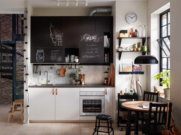 50 Wonderful One Wall Kitchens And Tips You Can Use From Them Free Autocad Blocks Drawings Download Center