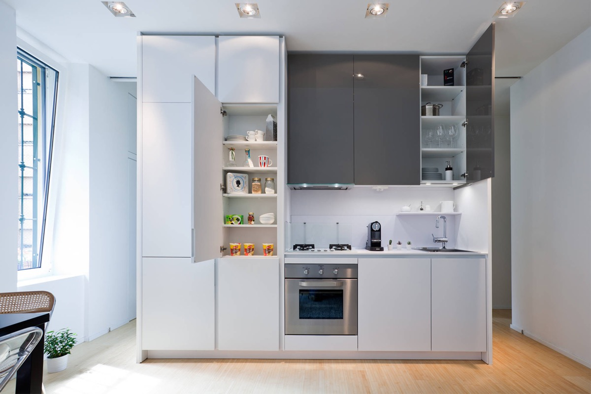 4 Wonderful One Wall Kitchens And Tips You Can Use From Them