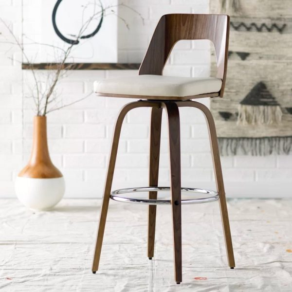 Remarkable 51 Swivel Bar Stools To Go With Any Decor Andrewgaddart Wooden Chair Designs For Living Room Andrewgaddartcom