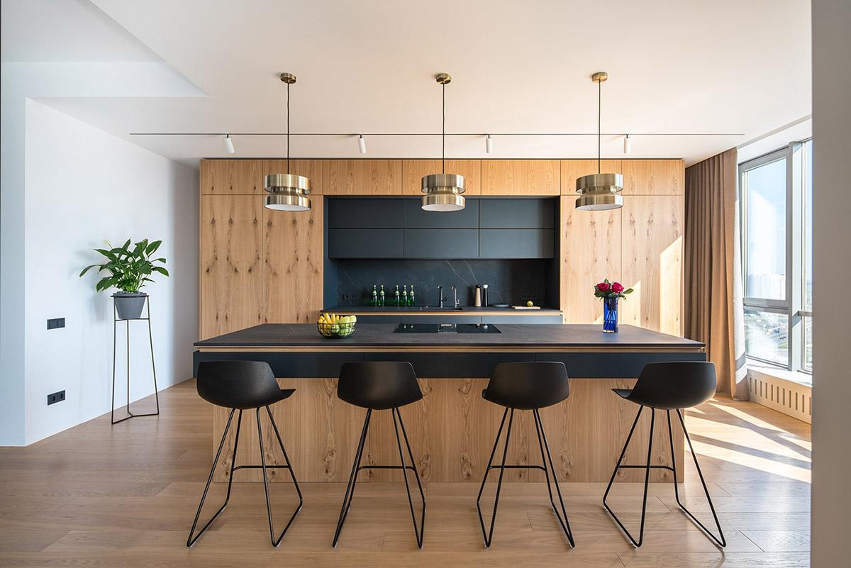 Black kitchen bar stools   Interior Design Ideas