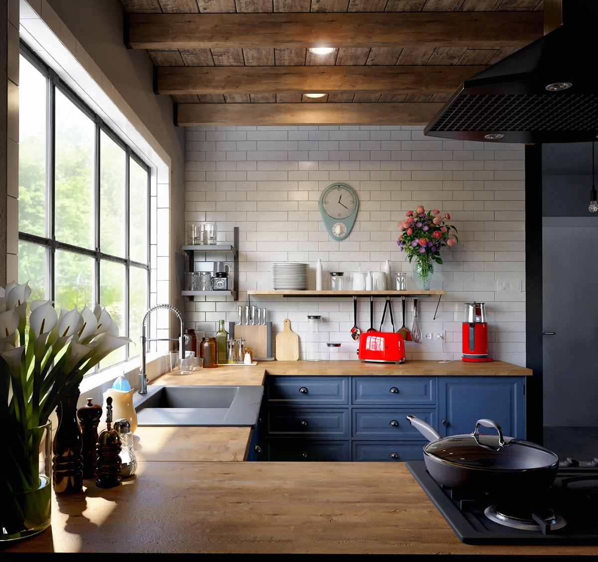 U Shaped Kitchens: 50 Unique U-Shaped Kitchens And Tips You Can Use From Them