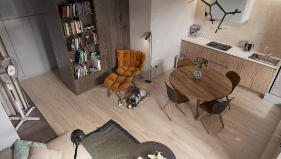 Modern And Youthful: 4 Small Apartments With Fierce Style