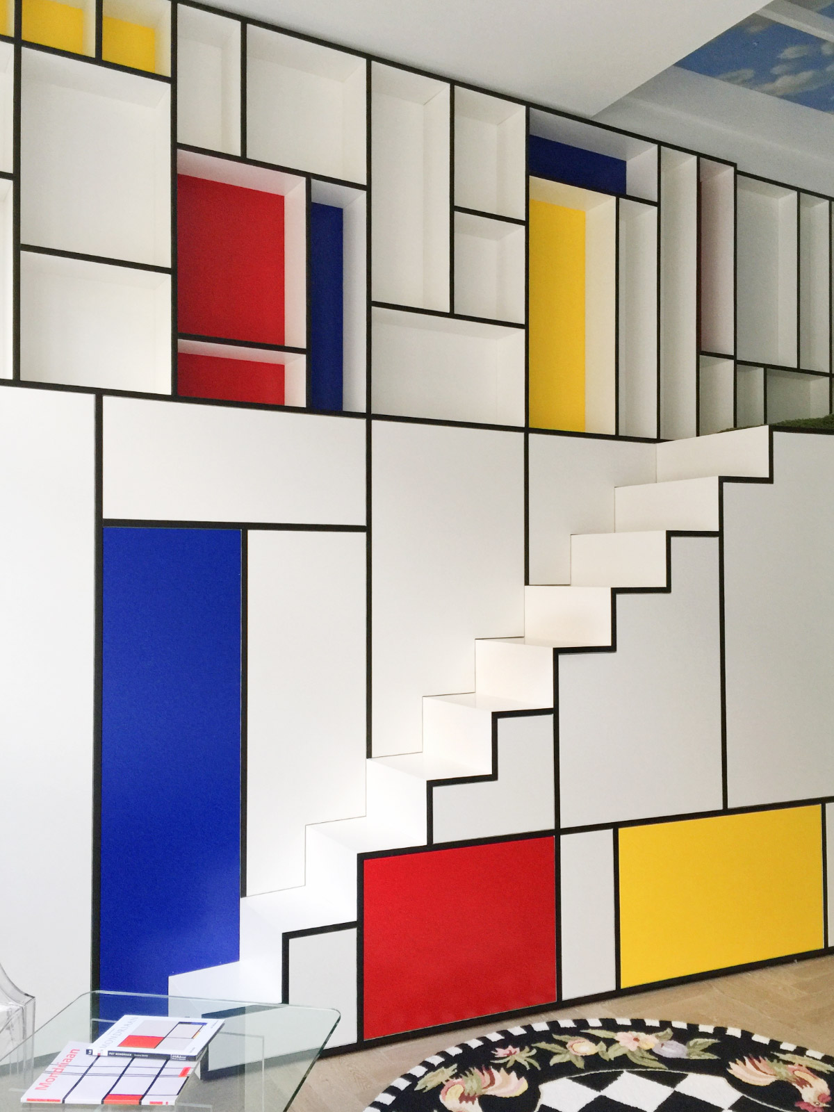 Piet Mondrian Inspired Interior Design To Give Your Home