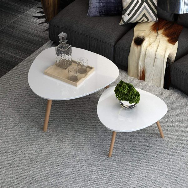 Pleasant 41 Nesting Coffee Tables That Save Space Add Style Caraccident5 Cool Chair Designs And Ideas Caraccident5Info