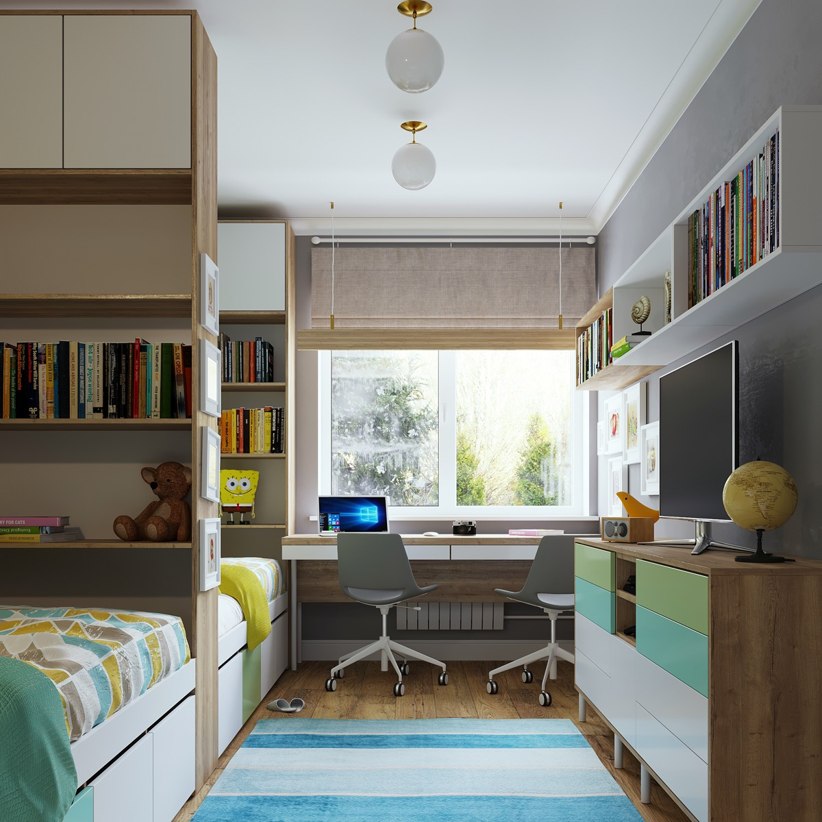 53 Inspirational Kids' Study Space Designs And Tips You