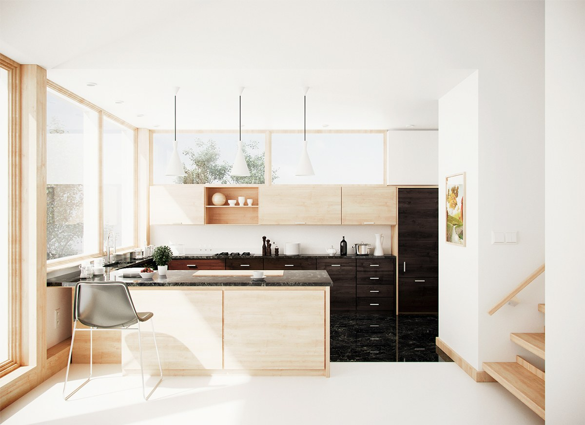 lovely kitchen delectable u shape kitchen decoration ideas | 50 Unique U-Shaped Kitchens And Tips You Can Use From Them