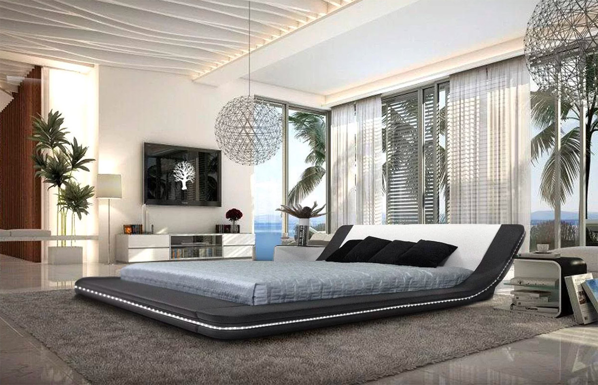 brand new 631a9 e2c77 51 Modern Platform Beds To Refresh Your Bedroom