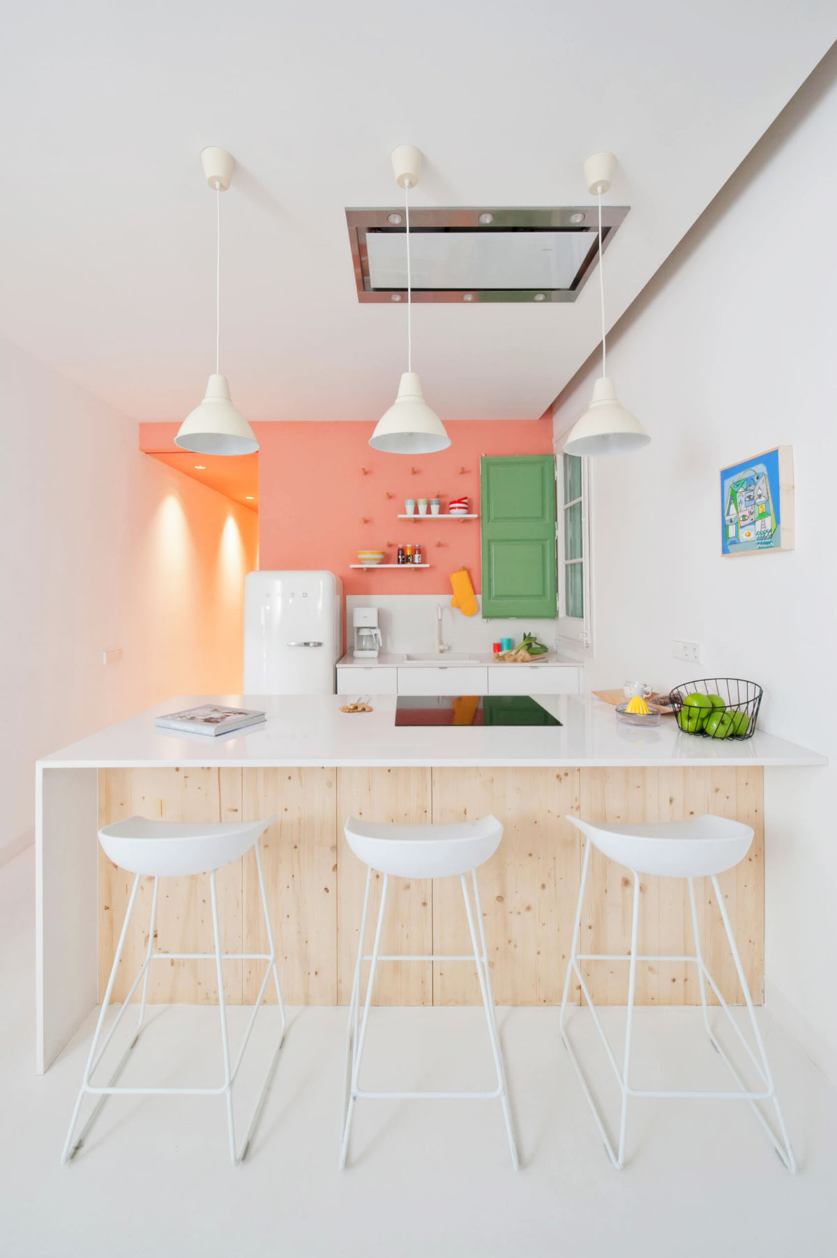 Superieur Pink And Green Kitchen Ideas