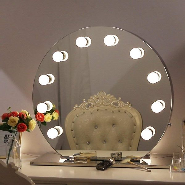 43 Vanity Mirrors To Update Your Bathroom Or Makeup Table