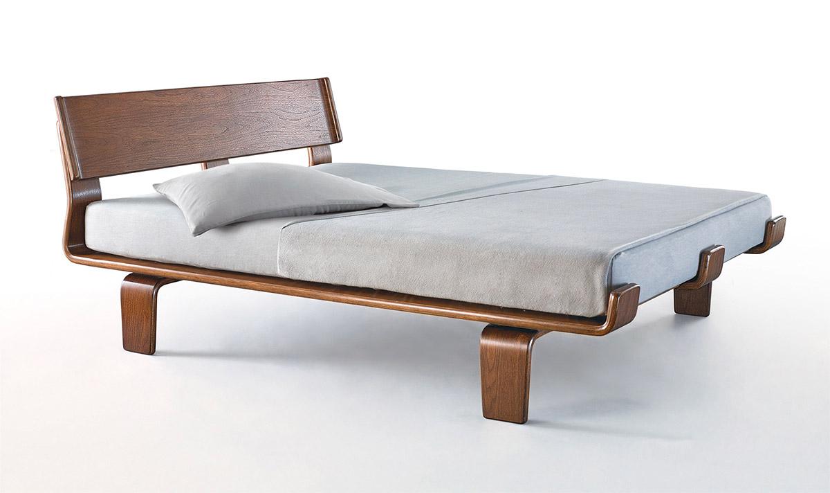 Midcentury Modern Wood Bed Frame Modernica Alpine Platform Bed Unique