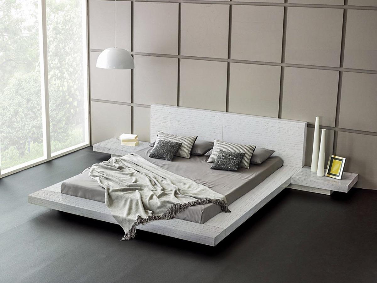 astounding modern furniture platform beds | 51 Modern Platform Beds To Refresh Your Bedroom