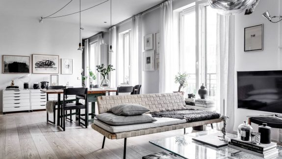 Four Perfectly Pale Scandi Style Interiors