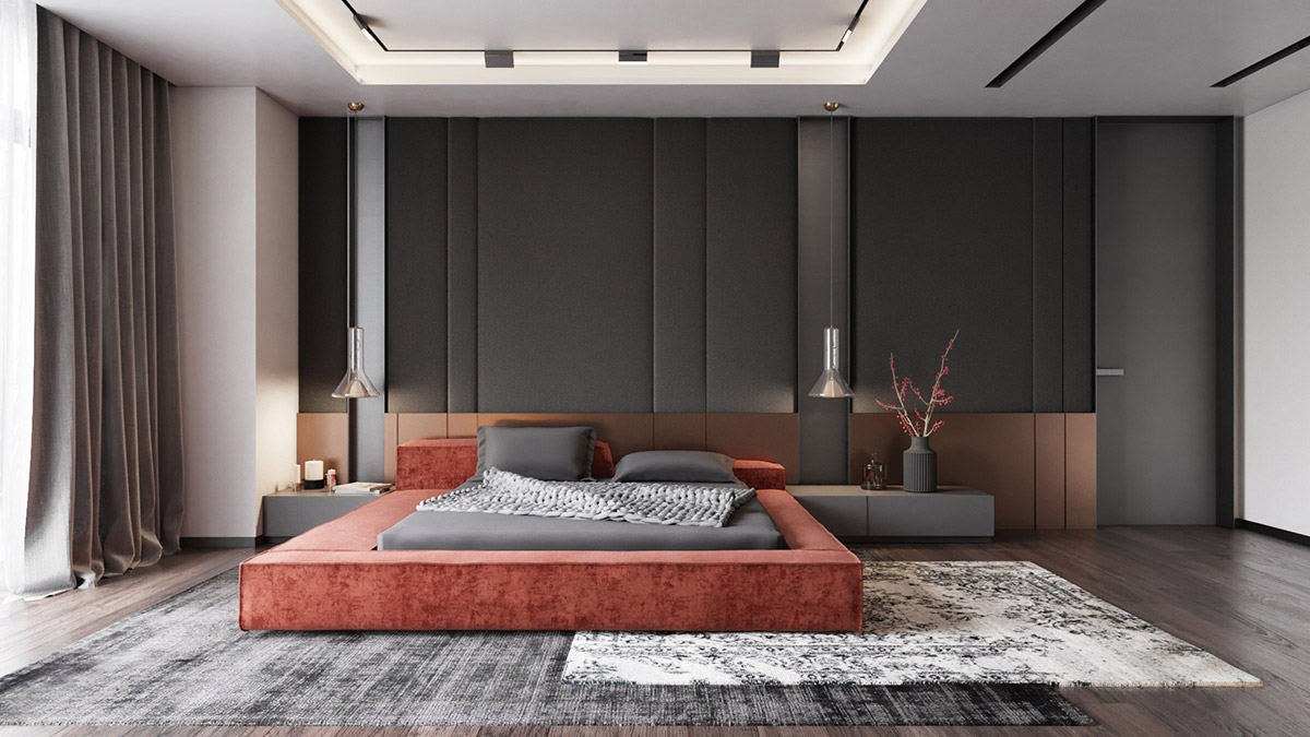 5 Modern Bedrooms With Tips To Help You Design & Accessorize Yours
