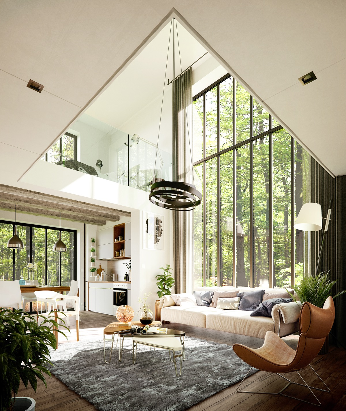 51 Beautiful Living Rooms With Irresistible Modern Appeal on Beautiful Room Pics  id=30380