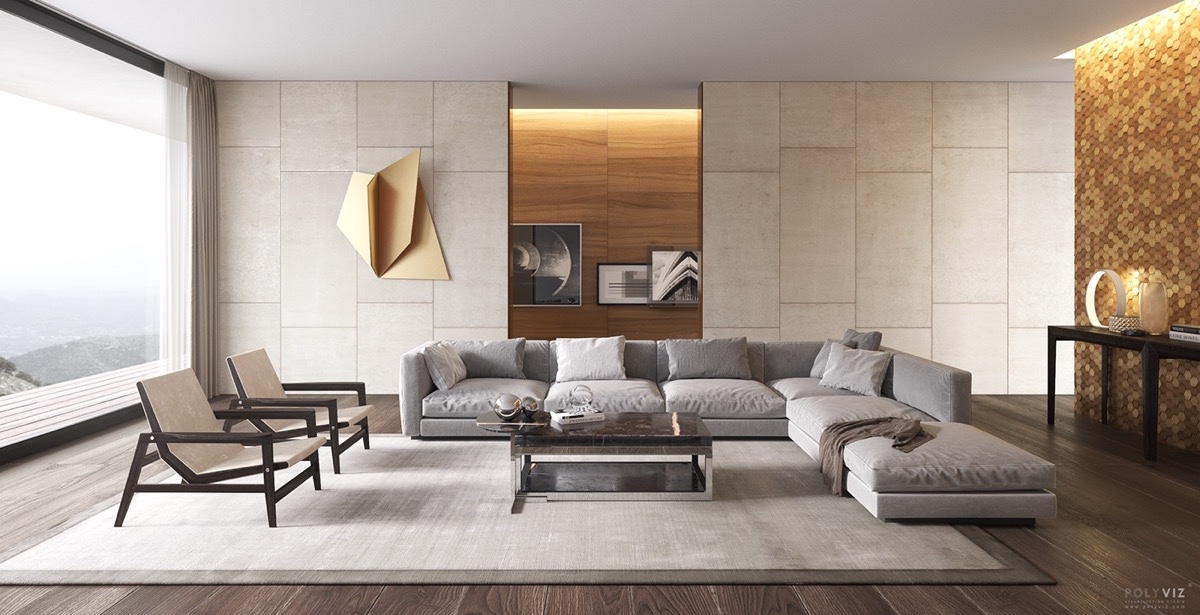 Modern Living Room: TOP 10 Interior Designs - D.Signers