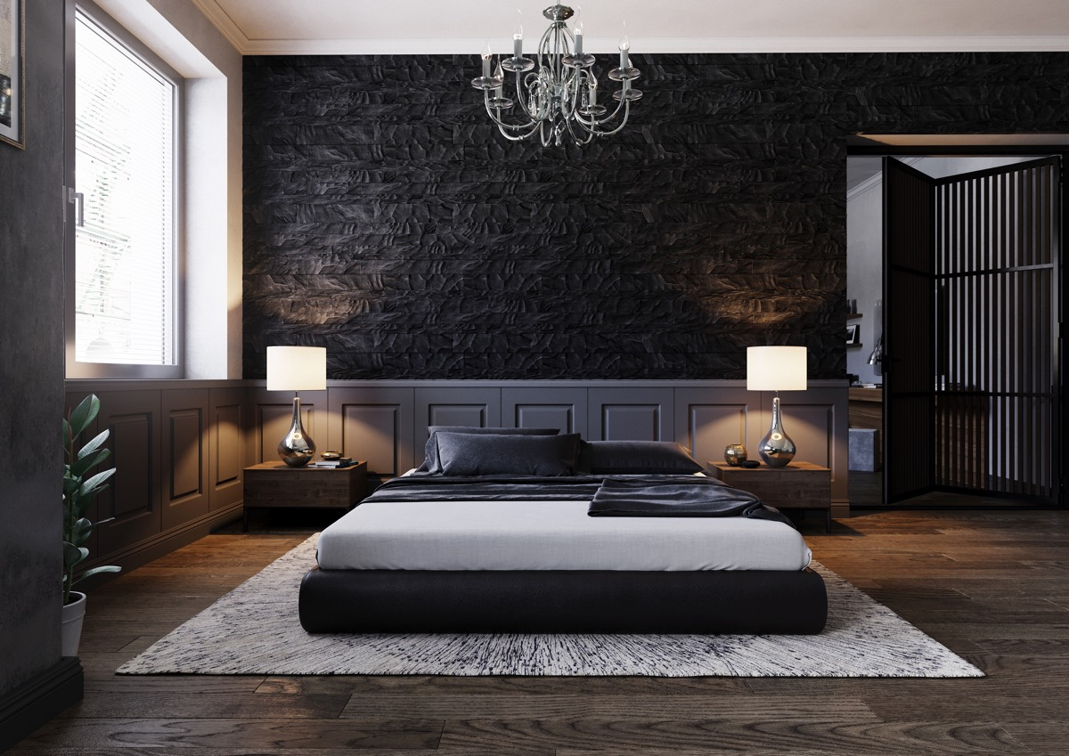 51 Beautiful Black Bedrooms With Images Tips Accessories To Help You Design Yours