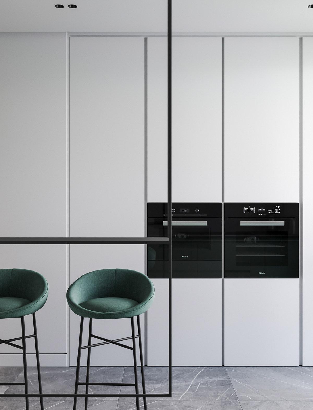 Modern Minimalist Apartment Designs Under 75 Square Meters