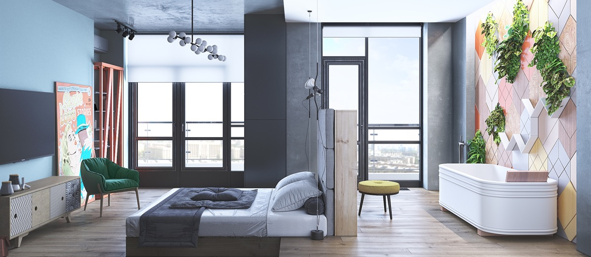 51 Cool Bedrooms With Tips To Help You, Cool Room Furniture