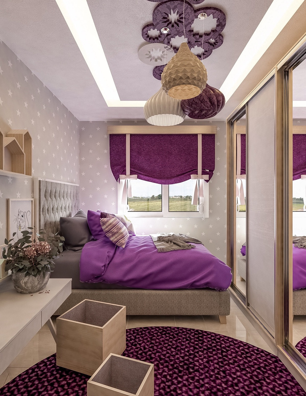 10 Purple Themed Bedrooms With Ideas, Tips & Accessories To Help