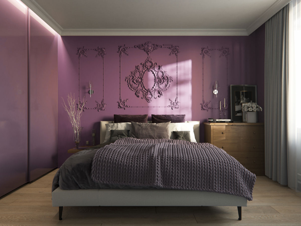 9 Purple Themed Bedrooms With Ideas, Tips & Accessories To Help