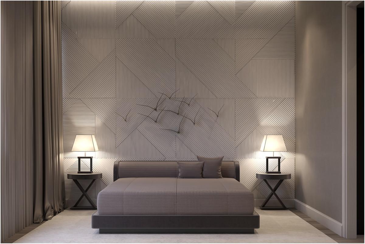 Master Bedroom Modern Classy Bedroom Wallpaper Designs