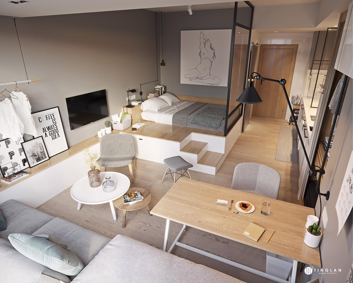 Living & Dining Room Combo: 51 Images & Tips To Get It Right on apartment living room interior design, black and white living room interior design, one room cabin interior design, one room apartment design,