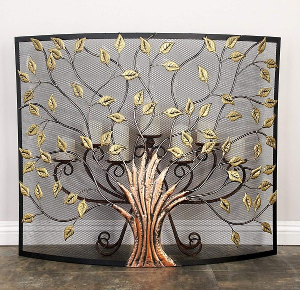 10 Decorative Fireplace Screens To Instantly Update Your Fireplace